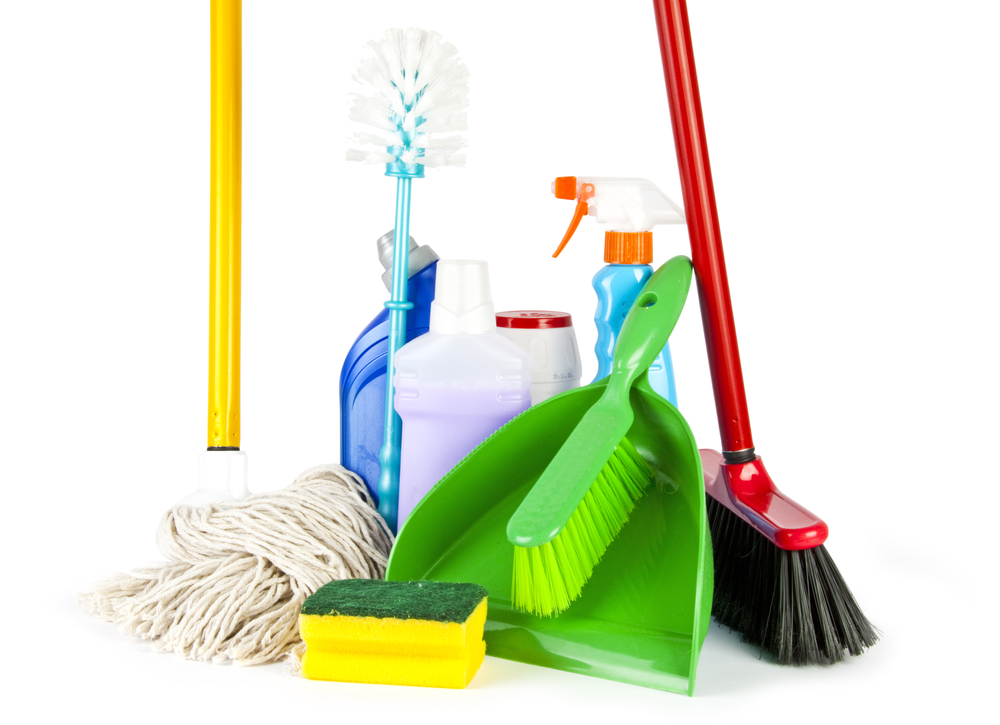 Cleaning and households